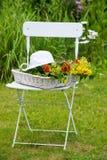 De idylle van de tuin Stock Afbeeldingen