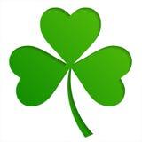 De Ierse achtergrond van klaverbladeren voor Gelukkige St Patrick ` s Dag Eps 10 Royalty-vrije Stock Foto