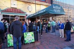 De Ierse Bar van de binnenstad Royalty-vrije Stock Foto's