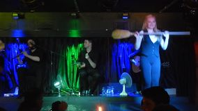 De Ierse folklore toont stock footage