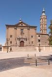 de iglesia Juan Los panetes SAN Σαραγόσα στοκ εικόνες