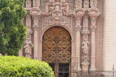 de Iglesia Santa prisca taxco Obraz Stock