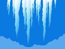 De ijskegels van Kerstmis Royalty-vrije Stock Fotografie