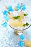 De ijslolly van het fruitroomijs Stock Foto