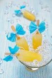 De ijslolly van het fruitroomijs Stock Fotografie