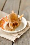 De Ijslollys van de Pastei van de pompoen Royalty-vrije Stock Afbeelding