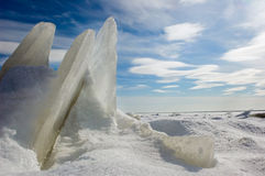De ijsschol van het ijs. Stock Fotografie