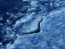 De ijsschol van het ijs royalty-vrije stock afbeelding
