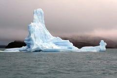 De ijsschol van het ijs stock foto