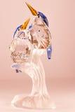 De ijsvogel van het Swarovskikristal Stock Foto's