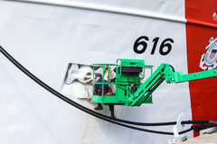 De Ijver van de Kustwachtsnijder, Wilmington, NC Stock Foto