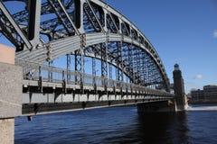 De ijzerbrug Stock Foto