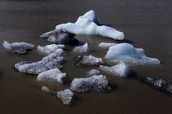 De Ijzige Lagune van Jokulsarlon Royalty-vrije Stock Foto's