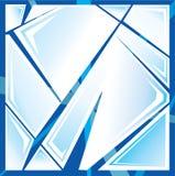 De ijzige staaf van de abstractie. Stock Fotografie