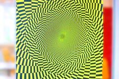 de illusie van beweging in het beeld zal het oog maken beweging zien royalty-vrije illustratie