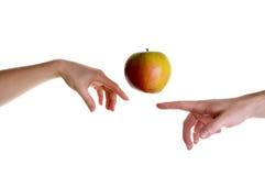 De illusie van de appel Royalty-vrije Stock Foto's