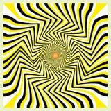 De illusie van de beweging Stock Afbeeldingen