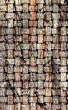 De illustratie op basis van de houten textuur royalty-vrije illustratie