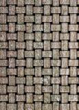 De illustratie op basis van de houten textuur stock illustratie