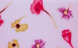 De illustratie van de bloemenwaterverf royalty-vrije stock afbeeldingen