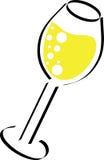 De Illustratie van Champagne Stock Foto's