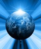 De illustratie van de aarde Stock Foto