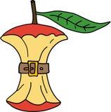 De Illustratie van de appel Royalty-vrije Stock Afbeeldingen