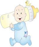 De illustratie van de baby royalty-vrije illustratie