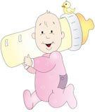 De illustratie van de baby vector illustratie