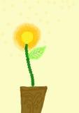 De illustratie van de bloem Royalty-vrije Stock Afbeelding