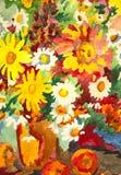De illustratie van de bloem Stock Afbeeldingen