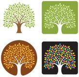 De Illustratie van de boom Stock Afbeelding