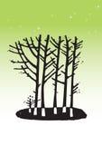 De illustratie van de boom Stock Fotografie