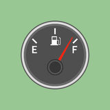 De illustratie van de brandstofsensor Stock Afbeeldingen