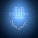 De Illustratie van de conceptenveiligheid Stock Afbeelding