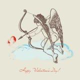 De illustratie van de Cupido Royalty-vrije Stock Afbeeldingen