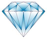 De illustratie van de diamant Royalty-vrije Stock Afbeeldingen