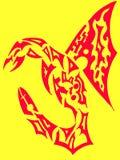 De illustratie van de draak royalty-vrije illustratie