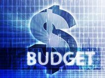 De illustratie van de Financiën van de begroting royalty-vrije illustratie