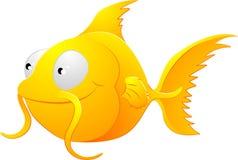 De illustratie van de goudvis clipart Royalty-vrije Stock Afbeelding