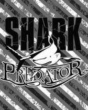 De illustratie van de haai Stock Fotografie