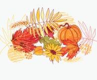De illustratie van de herfst Royalty-vrije Stock Fotografie