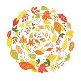 De illustratie van de herfst EPS Stock Foto