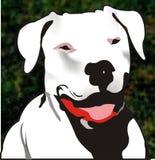 De illustratie van de hond stock illustratie