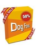 De illustratie van de hondevoer royalty-vrije illustratie