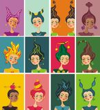 De illustratie van de horoscoop Royalty-vrije Stock Afbeeldingen