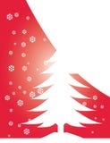 De illustratie van de kerstboom stock illustratie