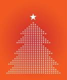 De Illustratie van de kerstboom Royalty-vrije Stock Foto