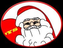 De illustratie van de Kerstman Stock Foto