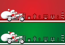 De illustratie van de kerstman Royalty-vrije Stock Afbeeldingen